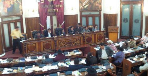 Ministro de Cultura, Marko Machicao explica el proyecto de ley