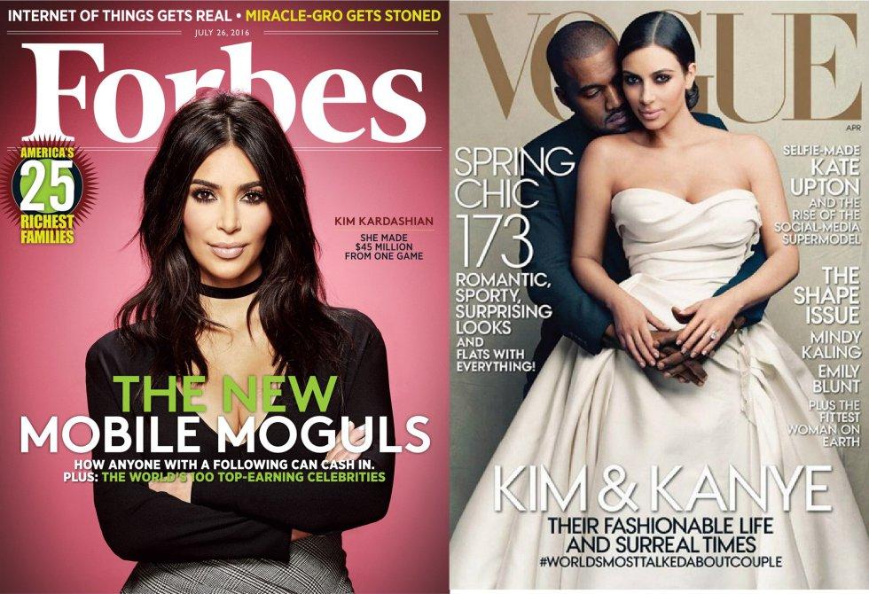 Gran parte del mundo de la moda se llevó las manos a la cabeza cuando Kim Kardashian y Kanye West aparecieron en la portada de la edición estadounidense de