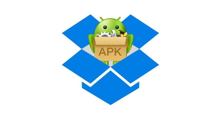 androd apk dentro de dropbox
