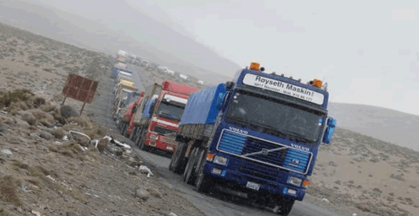 La normalización de la transitabilidad es lenta