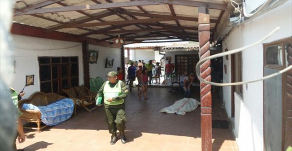 Asesinan a Padre e hija en la Pampa de la Isla