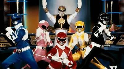 El uniforme clásico de los Power Rangers.