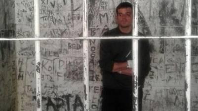 Daniel Zalazar preso.