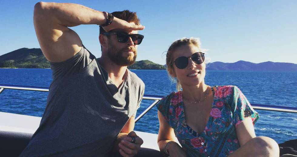 Chris Hemsworth y Elsa Pataky