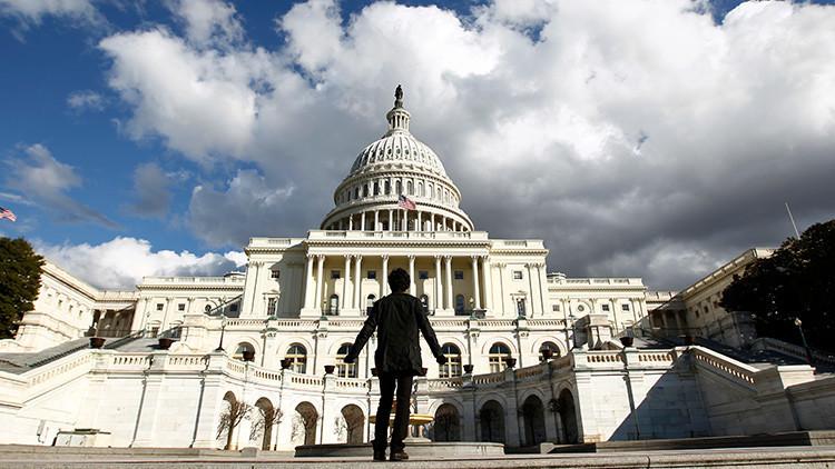 Vista del Capitolio de Estados Unidos