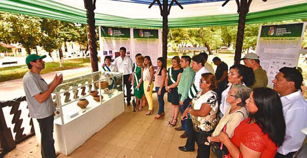 Los asambleístas recibieron información sobre piezas arqueológicas