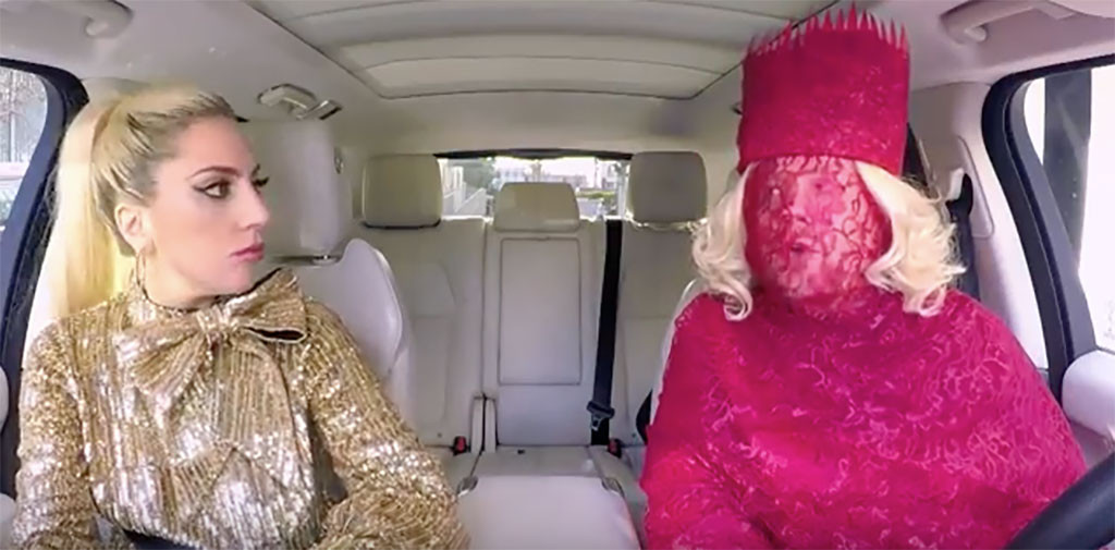 Lady Gaga, Carpool Karaoke