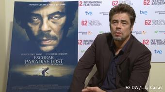 Benicio del Toro Pablo Escobar: Paradaise Lost (DW/L.G.Casas)