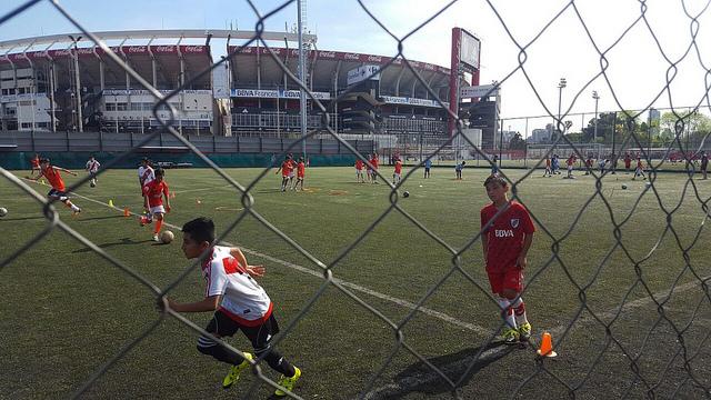 Niño tarijeño fichado por River Plate
