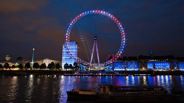 El London Eye es un símbolo de la capital inglesa y una de las principales atracciones para el turismo. La noria que se va a construir en Puerto Madero pretende los mismos resultados.