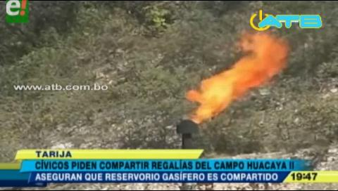 Reservorio Huacaya II desata interés en cívicos y autoridades de Tarija por regalías