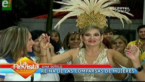 Gina Sotelo soberana de las comparsas femeninas 2017