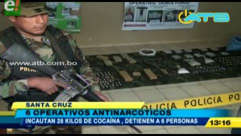 En 6 operativos la Felcn logró destruir 10 fábricas de cocaína