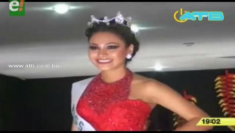 Carla Calderón es Miss Warnes 2016