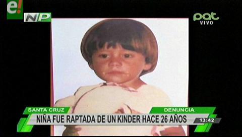 Después de 26 años del rapto de una menor, encuentran a una sospechosa