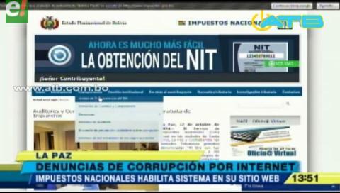Impuestos nacionales habilita plataforma digital para denuncias de corrupción