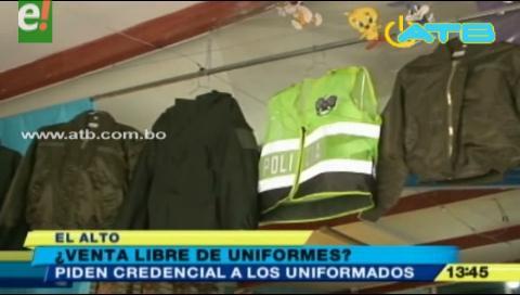 Analizan mecanismos de control para la venta de uniformes policiales