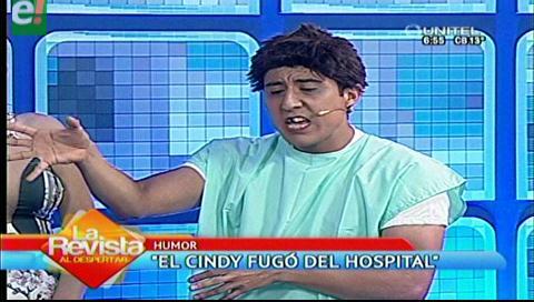 """El prófugo """"Cindy"""" quiere volver a Palmasola"""