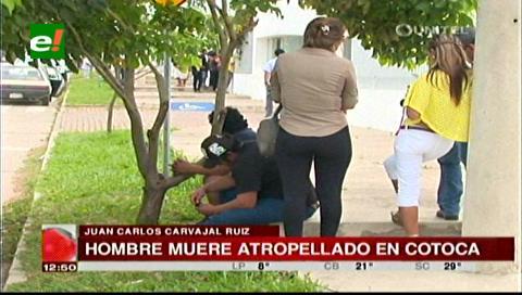 Santa Cruz: Hombre muere atropellado en la circunvalación de Cotoca