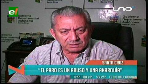 """Óscar Urenda: """"El paro del San Juan de Dios es un abuso para los pacientes"""""""