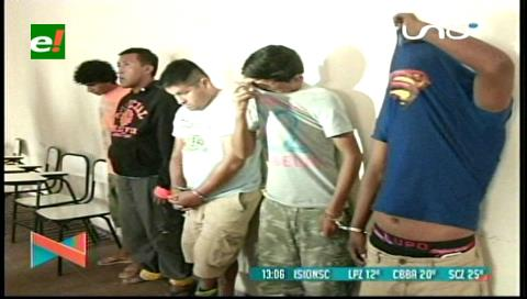 Desarticulan banda de delincuentes que robaban celulares a transeúntes