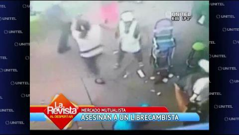 Video: Cámaras captan atraco a librecambista en Santa Cruz