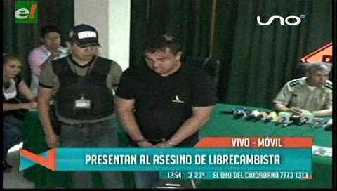 Presentan al asesino del librecambista Abel Mamani