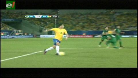 Coutinho mete el segundo para los brasileros