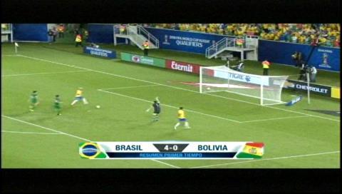Brasil 4-0 Bolivia: Final del primer tiempo