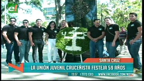 Unión Juvenil Cruceñista celebra 59 años de fundación