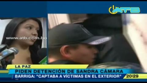 Nohemí pide la detención de Sandra Cámara