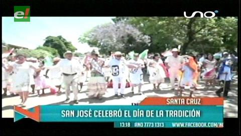 San José de Chiquitos celebró su Día de la Tradición
