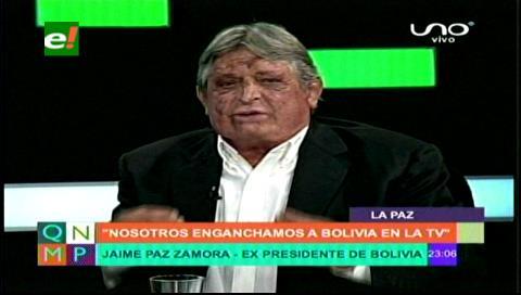 Expresidente Paz compara los gastos reservados con el Fondioc y refuta al Vice