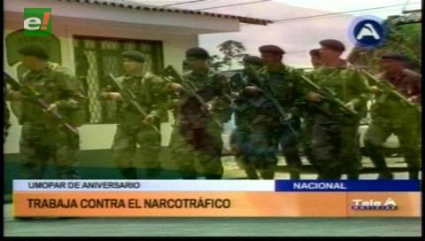 Romero en aniversario de Umopar: Lucha contra el narcotráfico está controlada