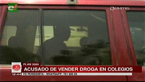 Felcn detiene a un sujeto acusado de vender droga en el Plan Tres Mil