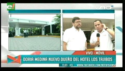 """Samuel y el Hotel Los Tajibos: """"El símbolo cruceño tenía que quedarse en manos bolivianas"""""""