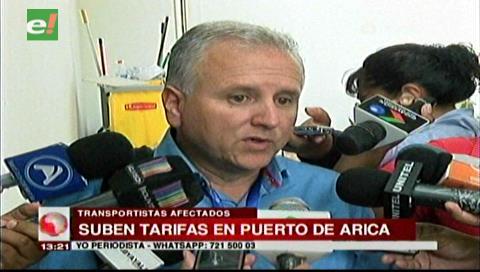 Afirman que alza unilateral de tarifas en Arica perjudica a transportistas