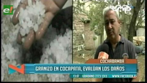 Cochabamba: Fuerte helada provocó daños en cultivos de Cocapata