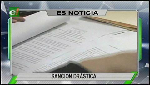 Titulares de TV:  Destituyen a dos funcionarias del Ministerio de Economía por la licitación para compra de alfombras