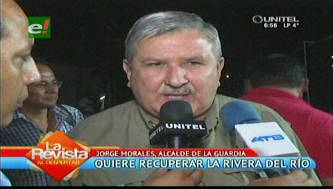 Alcalde de La Guardia dice que quiere recuperar las riberas del río Piraí