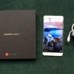 Caja y cargador del Huawei Mate 9