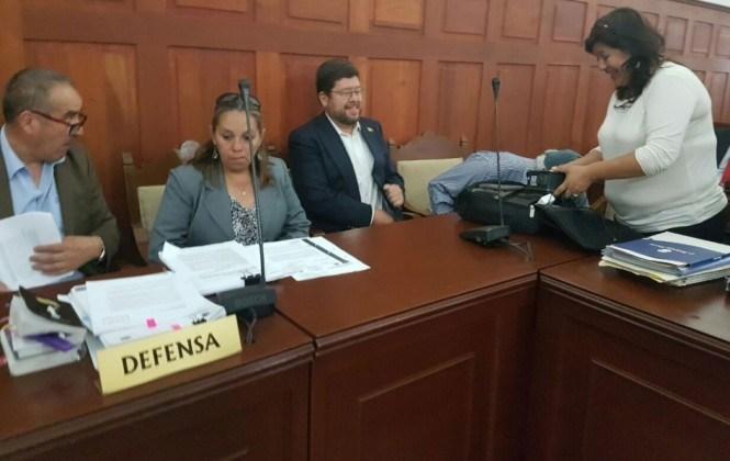 Declaran cuarto intermedio en la audiencia de medidas cautelares de Doria Medina