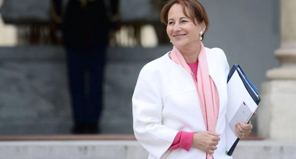 La ministra de Medio Ambiente Ségolène Royal.