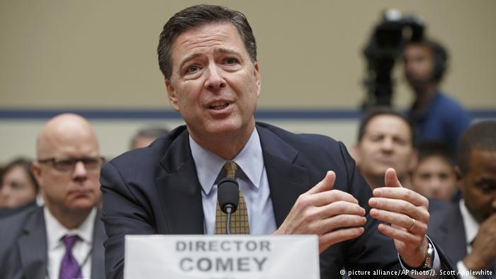 USA James Comey (picture alliance/AP Photo/J. Scott Applewhite)