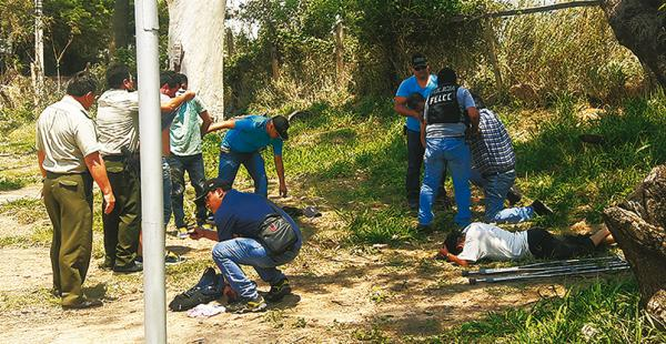 Algunos de los presuntos asaltantes portaban documentos, otros no tenían