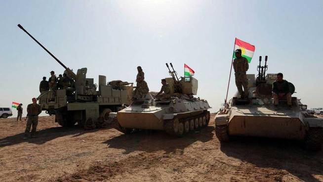 El ejército iraquí gana posiciones al Daesh en la batalla por Mosul. (RTVE)