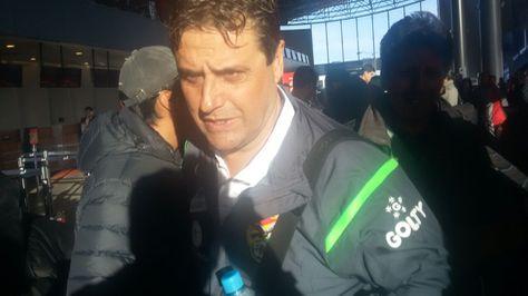 El seleccionador nacional Ángel Guillermo Hoyos.