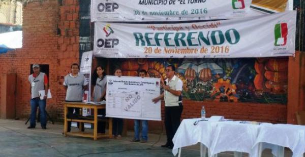 La capacitación de jurados en los municipios que votarán este domingo