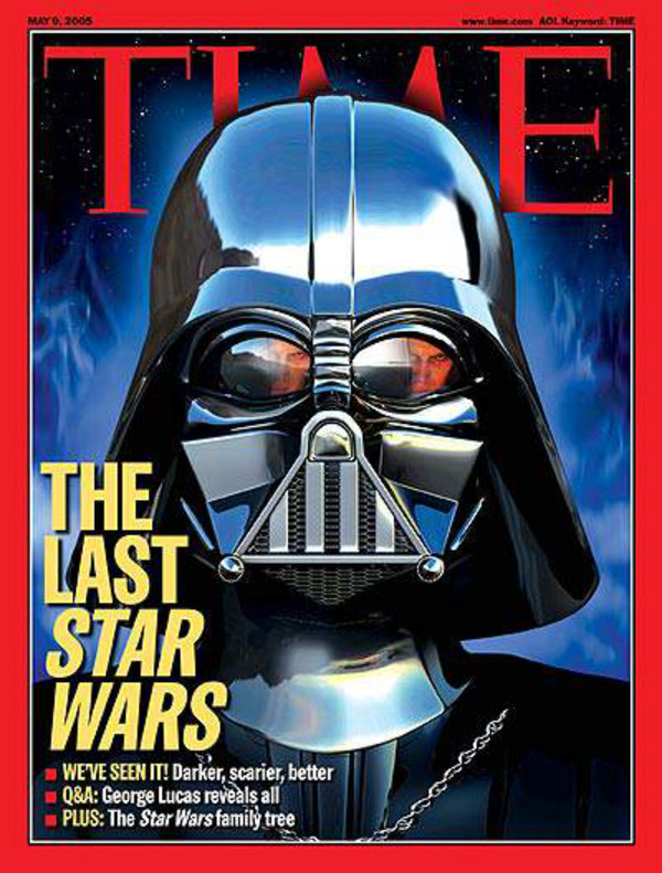 Darth Vader, Time Cover