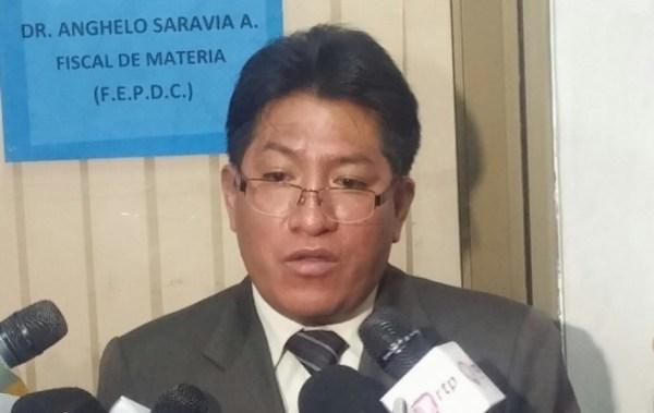 Piden detención preventiva de fiscal Saravia, acusado de usar a la Policía para arrestar a sus víctimas